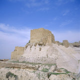 12th Century Crusader Castle in Biblical Land of Moab, Kerak, Jordan, Middle East Photographic Print by Christopher Rennie