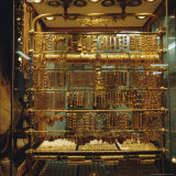 Gold Stall, Hamadiyyeh Souk, Damascus, Syria, Middle East Photographic Print by Christopher Rennie