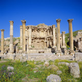 Nymphaeum (Public Fountain), 2nd Century Ad, of the Roman Decapolis City, Jordan, Middle East Photographic Print by Christopher Rennie