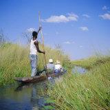 Okavango Delta, Botswana, Africa Photographic Print by Geoff Renner