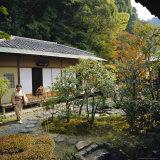 Tea Ceremony House, Nanzen-Ji Temple, Rinzai Zen Garden, Kyoto, Japan Photographic Print by Christopher Rennie