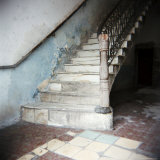 Stairway in Apartment Block, Cienfuegos, Cuba, West Indies, Central America Photographic Print by Lee Frost