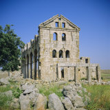 Basilica Church, 372 AD, 'Dead City' Region in North Syria, Kharrab Shams, Syria, Middle East Photographic Print by Christopher Rennie