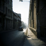 Street Scene with Old American Car, Havana, Cuba, West Indies, Central America Photographic Print by Lee Frost