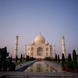 The Taj Mahal at Dawn, Agra, Uttar Pradesh, India Photographic Print by Tony Gervis