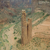 Spider Rock, Canyon De Chelly, Arizona, USA Photographic Print by Tony Gervis