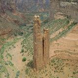 Spider Rock, Canyon De Chelly, Arizona, USA Photographic Print by Tony Gervis