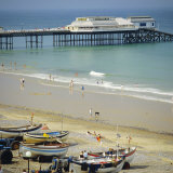 The Beach and Pier, Cromer, Norfolk, England, UK Photographic Print by G Richardson
