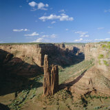 Spider Rock, Canyon De Chelly National Monument, Arizona, USA Photographic Print by Tony Gervis