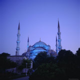 Sultan Ahmet Mosque (Blue Mosque) 1609-1616, Istanbul Turkey, Eurasia Photographic Print by Christopher Rennie