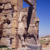 The Gateway of Xerxes, Persepolis, Iran, Middle East Photographic Print by Robert Harding