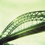 Arched Bridge Over River Tyne, Newcastle Upon Tyne, Tyne and Wear, England, United Kingdom, Europe Photographic Print by Lee Frost