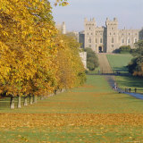 Windsor Castle in Autumn, Berkshire, England Photographic Print by G Richardson
