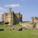 Warkworth Castle Dating from Medieval Times, Northumberland, England, UK Photographic Print by Michael Jenner