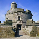 St. Mawes Castle, Built by King Henry VIII, Cornwall, England, UK Photographic Print by Michael Jenner