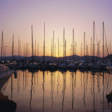 Sunset Over the Marina, St. Tropez, Cote d'Azur, Var, Provence, France, Europe Photographic Print by Ruth Tomlinson