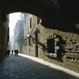 Gothic Quarter, Barcelona, Catalonia (Cataluna) (Catalunya), Spain, Europe Photographic Print by Sheila Terry