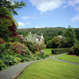 Rydal Mount, Home of the Poet William Wordsworth, Ambleside, Lake District, Cumbria, England, UK Fotoprint van Geoff Renner