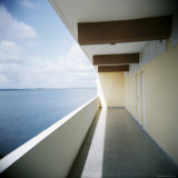 Balcony, Hotel Jaguar, Cienfuegos, Cuba, West Indies, Central America Photographic Print by Lee Frost