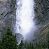 Takakkaw Falls Swollen by Summer Snowmelt, British Columbia (B.C.), Canada Photographic Print by Ruth Tomlinson
