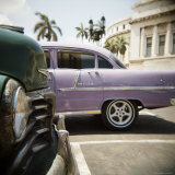Old American Car, Havana, Cuba, West Indies, Central America Photographic Print by Lee Frost