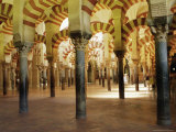 Arches in the Interior of the Great Mosque, Cordoba, Unesco World Heritage Site, Andalucia, Spain Photographic Print by James Emmerson
