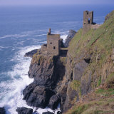 Botallack Tin Mines, Cornwall, England Photographic Print by Roy Rainford