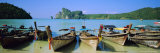 Loh Laanaa, Phi Phi Don, Ko Phi Phi, Krabi Province, Thailand Photographic Print by Bruno Morandi
