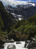 A River on Rob Roy Glacier Hiking Track, New Zealand, Pacific Photographic Print by Chris Kober