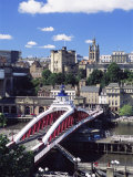 Swing Bridge and Castle, Newcastle (Newcastle-Upon-Tyne), Tyne and Wear, England, United Kingdom Photographic Print by James Emmerson