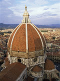Elevated View of the Duomo, Florence, Unesco World Heritage Site, Tuscany, Italy Photographic Print by James Emmerson