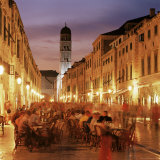 The Stradun, Dubrovnik, Croatia Photographic Print by John Miller