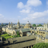 Dreaming of Spires, Oxford, England Photographic Print by Nigel Francis