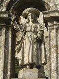 Puerta Santa Doorway, Santiago Cathedral, Unesco World Heritage Site, Galicia, Spain Photographic Print by Robert Harding