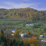 East Orange Village, Vermont, New England, USA Photographic Print by Roy Rainford