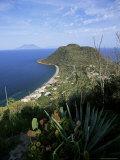 Island of Filicudi, Aeolian Islands, Unesco World Heritage Site, Italy Fotografisk tryk af Oliviero Olivieri