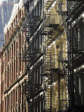 Fire Escapes on the Outside of Buildings in Spring Street, Soho, Manhattan, New York, USA Photographic Print by Robert Harding