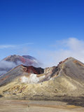 Mount Ngauruhoe, 2287M, on the Tongariro Crossing, Taupo, New Zealand Photographic Print by Chris Kober