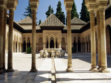 Court of the Lions, Alhambra Palace, Unesco World Heritage Site, Andalucia (Andalusia), Spain Photographic Print by James Emmerson