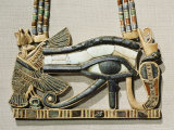 Pectoral of the Sacred Eye Flanked by Serpent Goddess and Vulture Goddess, Egypt, North Africa Photographic Print by Robert Harding
