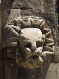 Gargoyles on the Temple of Quetzalcoati, North of Mexico City, Mexico Photographic Print by Robert Harding