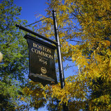 Boston Common Sign, Boston Common, Massachusetts, New England, USA Photographic Print by Roy Rainford