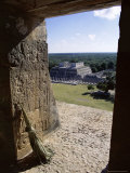 View from the Castle (El Castillo), Yucatan, Mexico Photographic Print by Richard Nebesky