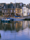 Waterfront and Port Area of Saint Goustan (St. Goustan), Town of Auray, Brittany, France Photographic Print by J P De Manne