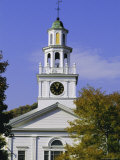 First Congregational Church, Paul Revere Bell, New England, USA Photographic Print by Fraser Hall