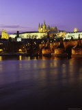 Charles Bridge, Prague, Czech Republic Photographic Print by Richard Nebesky