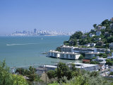 Sausalito, a Town on San Francisco Bay in Marin County, California, USA Photographic Print by Fraser Hall