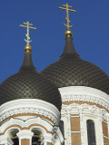 Domes of the Alexander Nevsky Cathedral, Russian Orthodox Church, Toompea Hill, Tallinn, Estonia Photographic Print by Neale Clarke