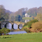 Stourhead, Wiltshire, England, UK, Europe Photographic Print by Roy Rainford