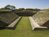 The Ball Court at the Ancient Zapotec City of Monte Alban, Near Oaxaca City, Oaxaca, Mexico Photographic Print by Robert Harding
